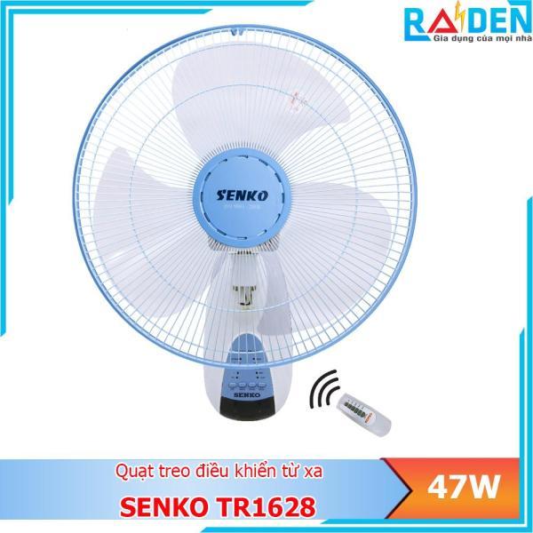 Quạt treo tường Senko TR1628 công suất 47W kèm remote điều khiển từ xa - Màu ngẫu nhiên
