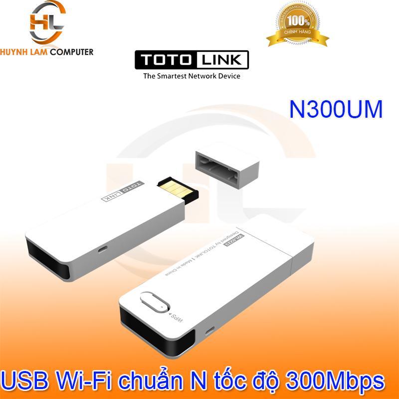Giá USB WiFi Totolink N300UM chuẩn N tốc độ 300Mbps - DGW phân phối