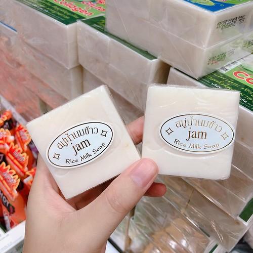 HCM]combo 4 Xà Phòng Gạo Kích-Trắng Da Cám Gạo Jam Rice Milk Thái lan |  Lazada.vn