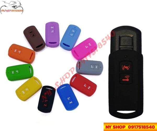 Bọc (Bao) Silicon Cho Chìa Smartkey xe Lead, Air Blade, Vision,Vario 2018 Silicon bảo vệ cho Remote (nhiều màu)