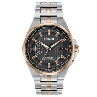 Đồng hồ Nam Citizen CB0166-54H tự động chỉnh giờ thế giới, mặt đen, dây kim loại, kính shapphire - Chạy bằng năng lượng ánh sáng thumbnail