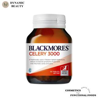 [Hàng chuẩn Úc] Viên uống phòng và hỗ trợ bệnh gout Blackmores celery 3000mg 50 viên blackmore của Úc thumbnail