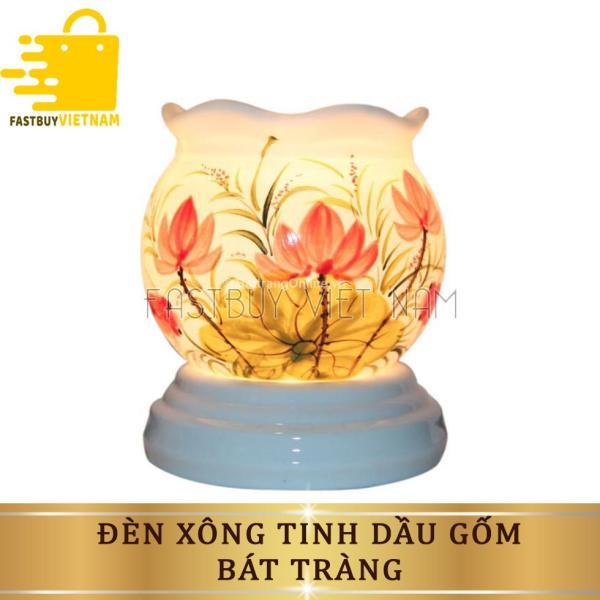 Bảng giá Đèn xông tinh dầu gốm bát tràng thiết kế sang trọng màu giúp tạo hương thơm nhẹ nhàng dễ chịu