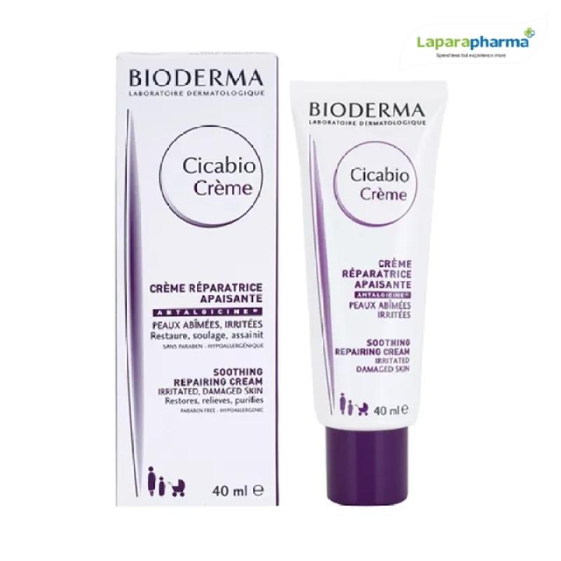 BIODERMA - KEM DƯỠNG PHỤC HỒI DA TỔN THƯƠNG Bioderma Cicabio Crème - 40ML giá rẻ