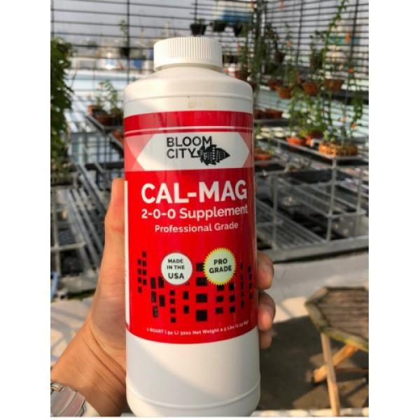 Cal-Mag 2-0-0 supplement  Thúc đẩy khả năng kháng bệnh trên cây. chai 100ml