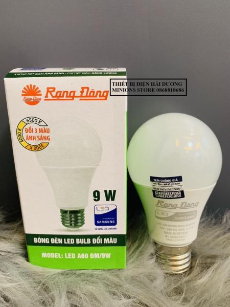 Bóng đèn Ledbulb Rạng Đông 3 chế độ ánh sáng LED A60 ĐM/7W 9W - Bảo Hành 2 năm