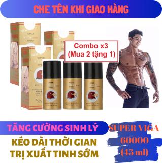 Combo x3 (Mua 2 tặng 1) (Công thức siêu đậm đặc) Chai xịt VIGA 60000 (45ml) thumbnail