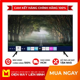 TRẢ GÓP 0% - Smart Tivi Samsung 4K 50 inch UA50TU8100 Mới 2020. One Remote đa nhiệm thông minh (Tìm kiếm bằng giọng nói có hỗ trợ Tiếng Việt) Tính năng thông minh Tìm kiếm giọng nói bằng Tiếng Việt (Hỗ trợ trong Youtube), Trợ lí ảo thumbnail