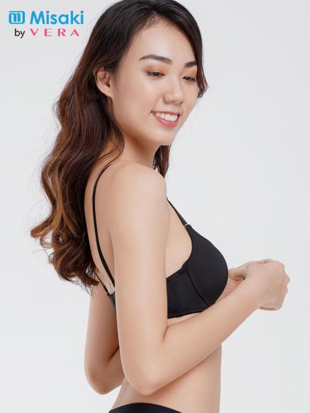 Nơi bán Áo ngực Misaki mút dày cúp trơn - 8315