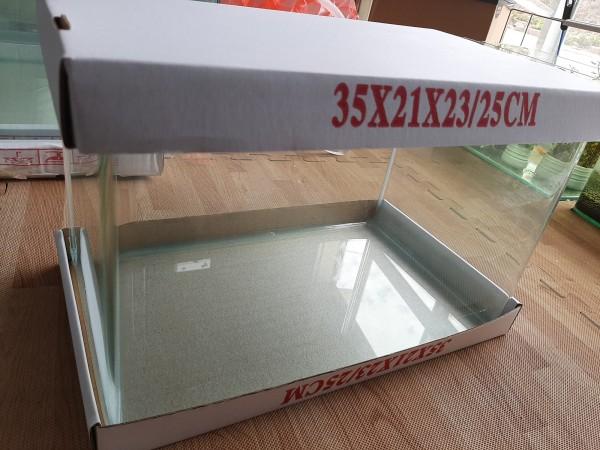 Bể cá mini kính đúc 35x21x23 cm