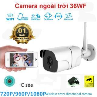 Camera wifi Full HD 1080P, Ngoài trời chống nước ip66. Camera Ngoài Trời Yoosee 36WF Chống Nước, Độ Phân Giải Full HD 1080P, Đàm Thoại 2 Chiều, Mắt Hồng Ngoại Quan Sát Ban Đêm. thumbnail