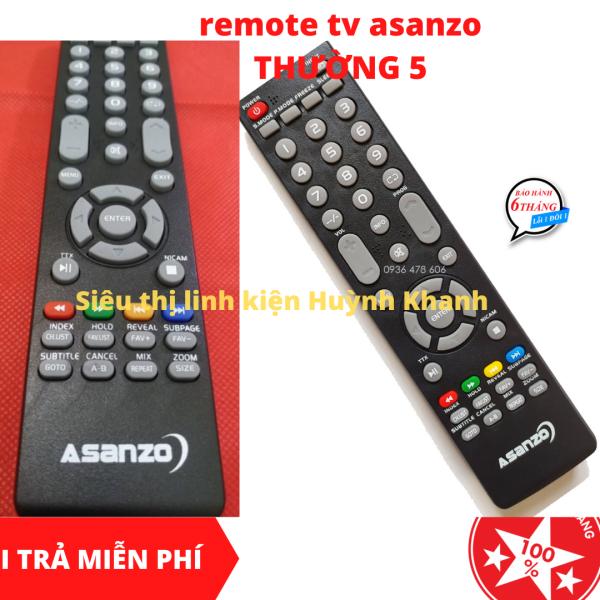 Bảng giá REMOTE TV ASANZO THƯỜNG 5 SIÊU BỀN ĐẸP CHÍNH HÃNG