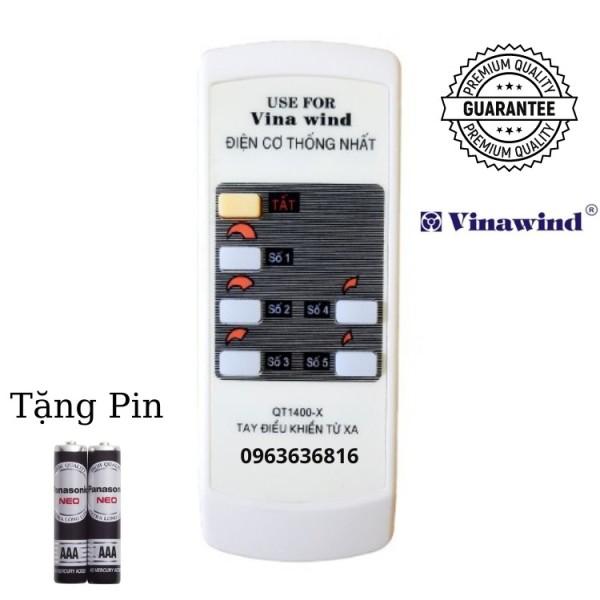 [FREESHIP 50K] Remote Điều khiển quạt Vinawind ✔ QT1400 - X
