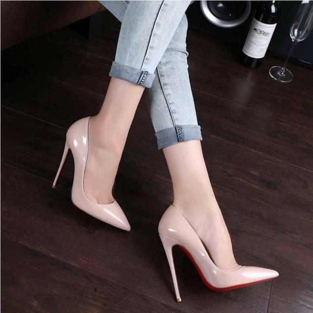 Giày Cao Gót 11P - Hàng VNXK - Sang Chảnh Quý Phái - 5 màu Full Size 34-40 giá rẻ