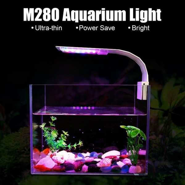 [HCM]Đèn Led kẹp Vipsun M-280 chuyên dùng cho hồ cá