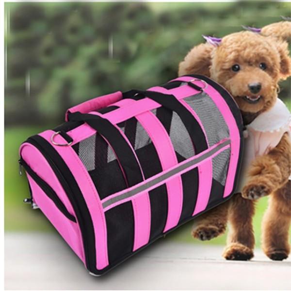 Túi vận chuyển chó mèo mẫu mới -khung lưới cao cấp . Size S