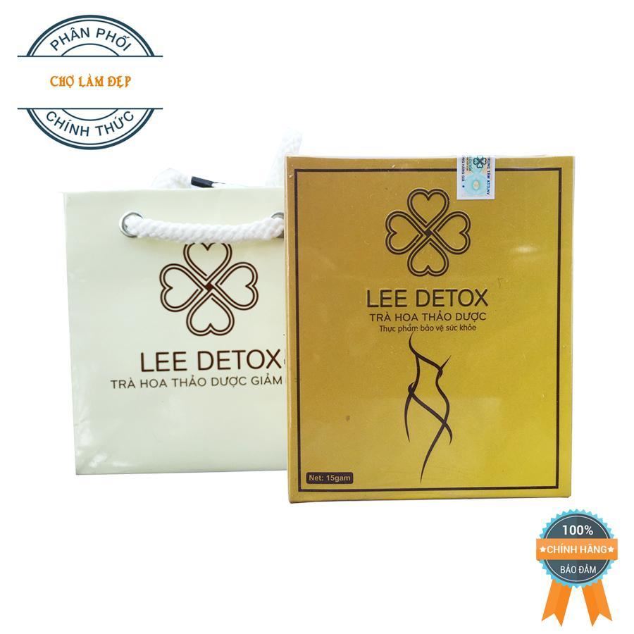 Trà Hoa Thảo Dược Giảm Cân Lee Detox (30 viên)