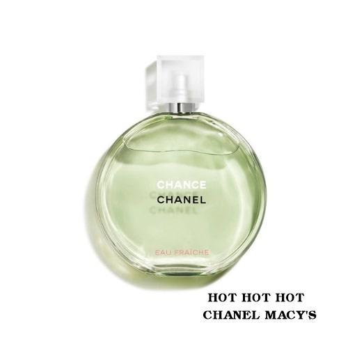 Nước Hoa Chanel Chance Eau Fraiche Eau De Toilette 100 ml - [Hàng Macys có Tem]