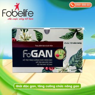 Giải độc gan, làm mát gan, tăng cường chức năng- FoGAN thumbnail