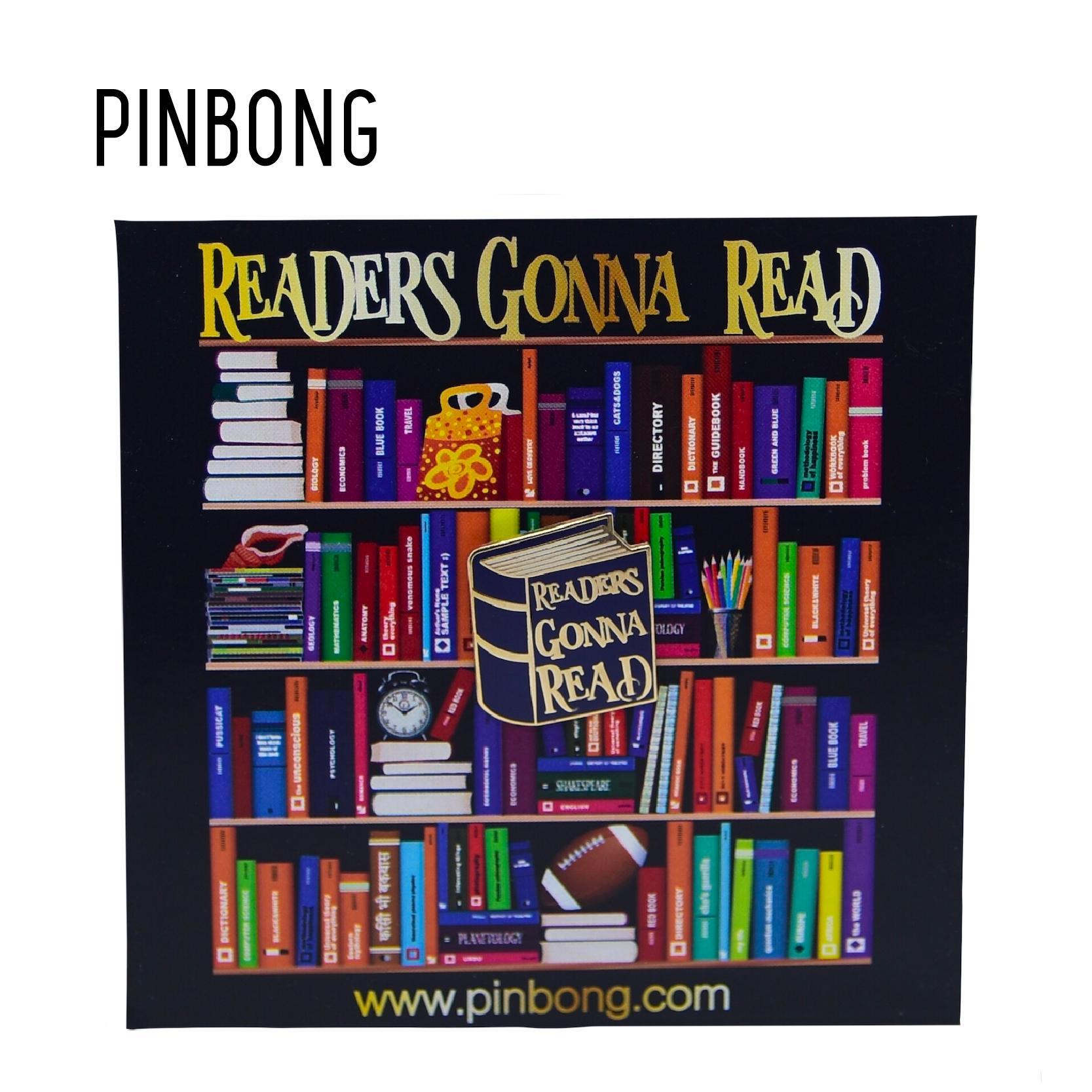 Huy Hiệu Readers Gonna Read