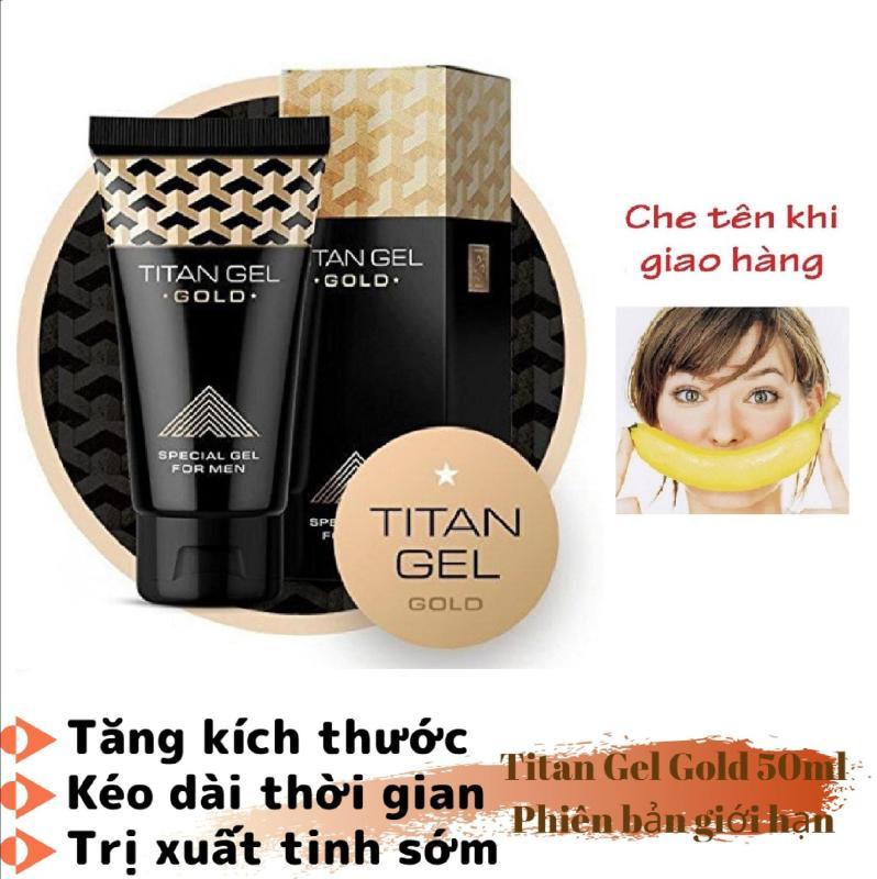 (Hàng chuẩn Nga) Titan-Gel GOLD phiên bản giới hạn - tăng kích thước, tăng cường sinh lý nam giới (50ML)