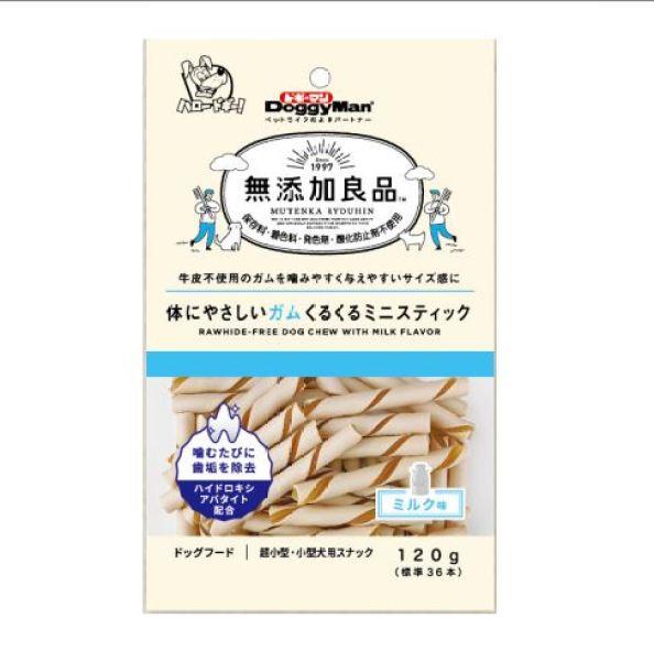 Xương que hương sữa Mini Doggyman gói 120g (tiêu chuẩn Nhật)