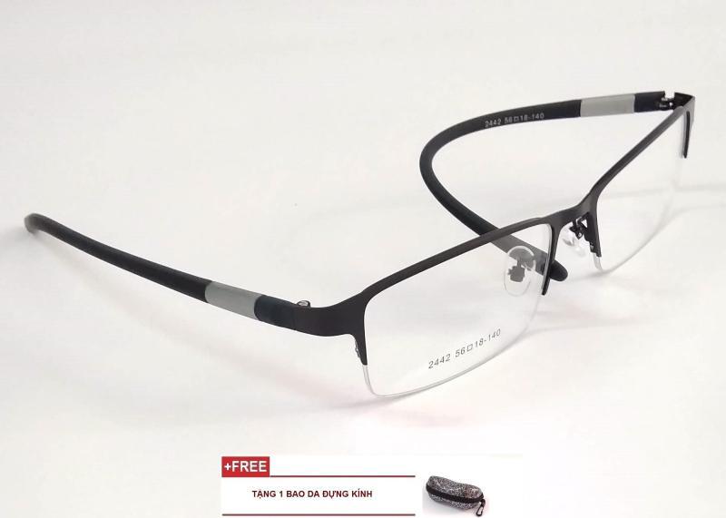 Giá bán Gọng kính cận dẻo nam nữ khung Aluminium thời trang cao cấp LE17A