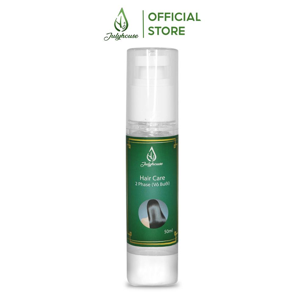 Serum dưỡng tóc Bưởi - Mắc Ca dạng dầu nguyên chất 50ml JULYHOUSE