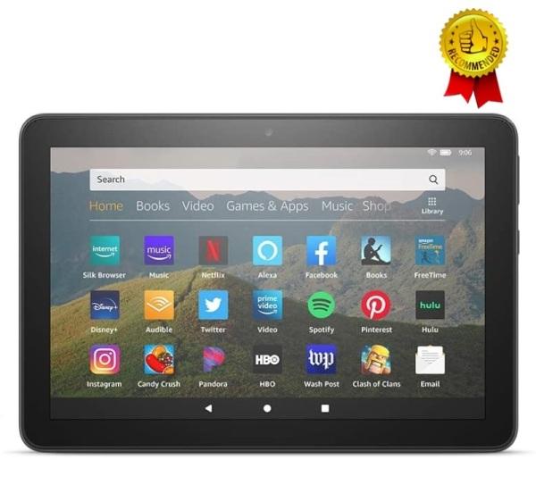 Máy tính bảng Kindle Fire HD8 Plus - Thế hệ 10 2020 màn hình 8inch sắc nét, RAM 3GB, dung lượng 32GB – New 100% Nguyên Seal
