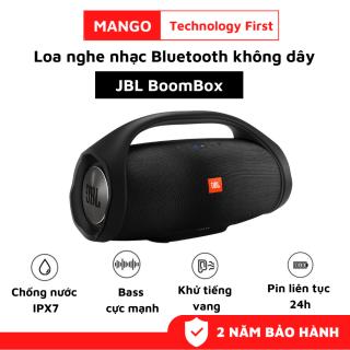 Loa Bluetooth JBL Boombox Âm Thanh Siêu Bass Cực Mạnh Chống Nước IPX7 Loa Karaoke Công Suất Cực Lớn 60W Loa Nghe Nhạc Treble Rời Thời Gian Sử Dụng 24h Loa Vi Tính Tương Thích Điện Thoại, Máy Tính, LapTop, TiVi thumbnail