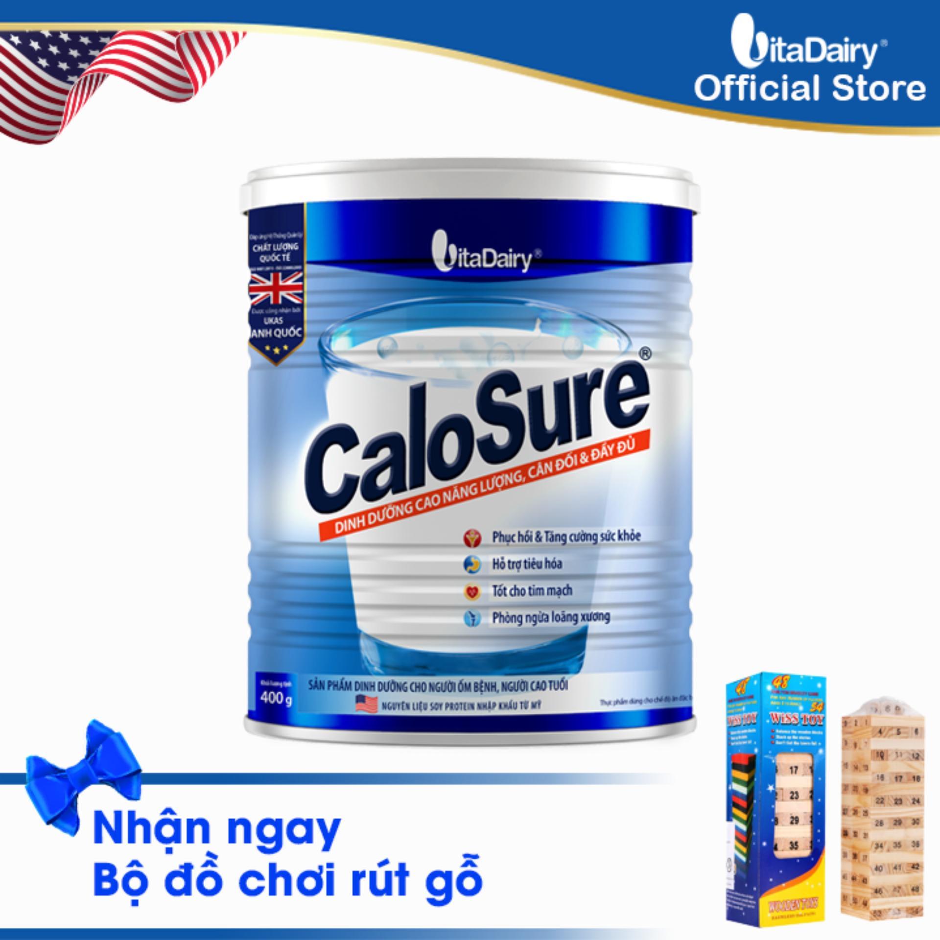 Sữa bột Calosure 400g -S
