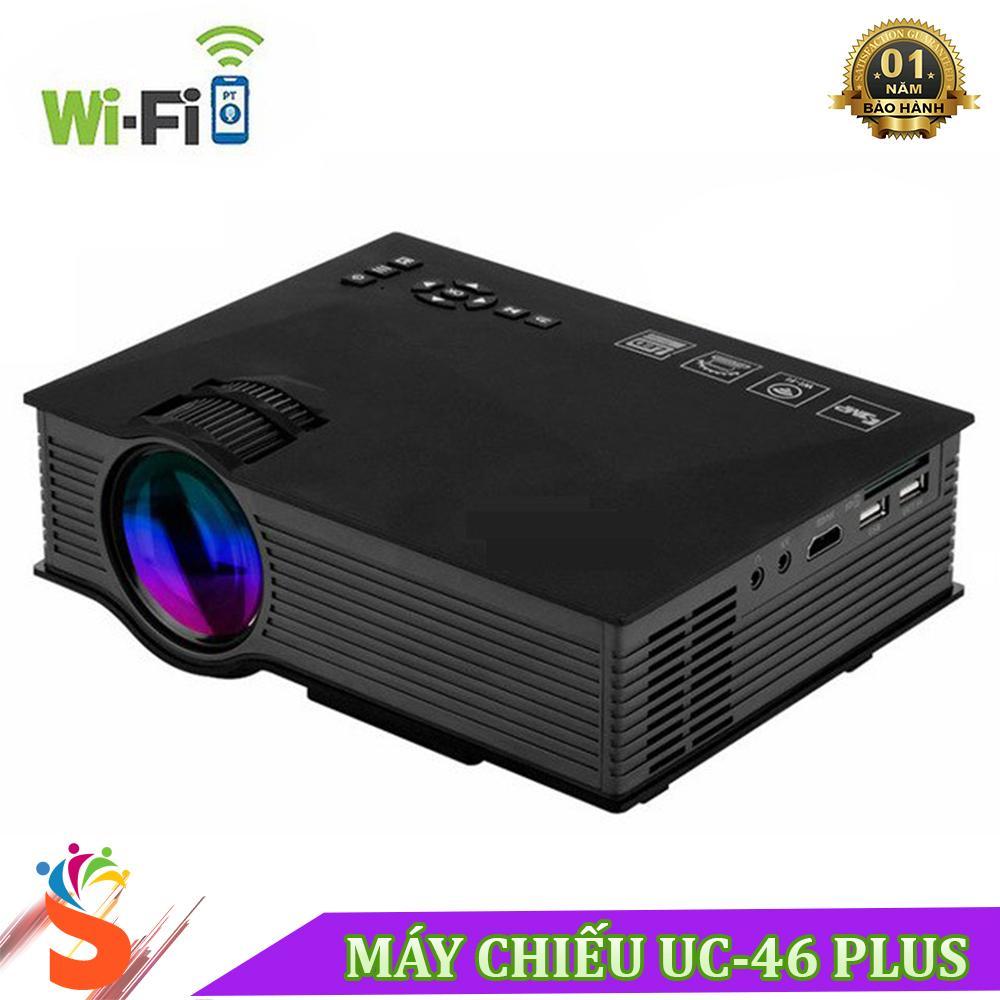 Máy chiếu LCD Wifi UC46 Plus cường độ sáng 1200 Lumens
