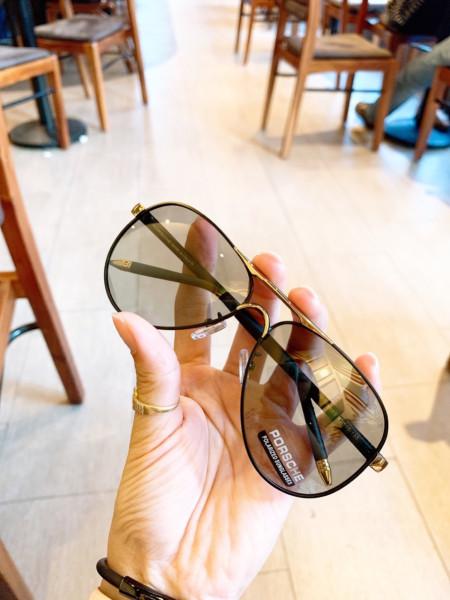 Mua [HCM]Mắt kính thời trang nam nữ cao cấp GV21. Kính râm Hàn Quốc Unisex chống tia UV tròng phân cực đổi màu đi ngày và đêm
