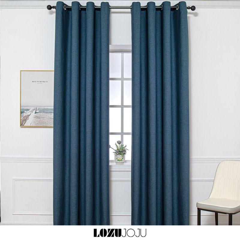 LOZUJOJU ngang cao tùy chọn, dùng làm rèm cửa chính, rèm cửa sổ, màn cửa chống nắng trang trí phòng ngủ 1 PCS