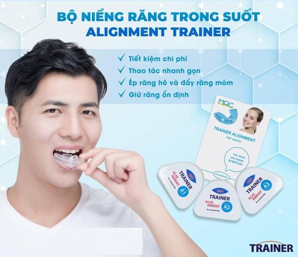 Dụng cụ niềng răng trong suốt tại nhà Trainer COMBO [A1+A2+A3] giá rẻ