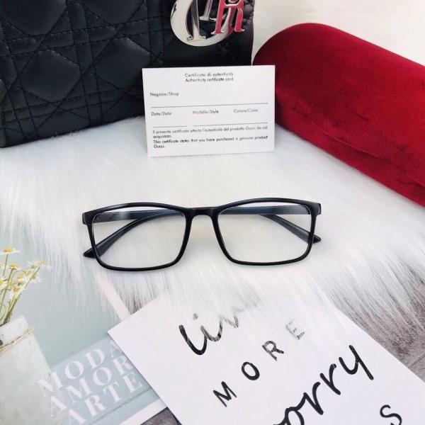 Giá bán Kính giả cận thời trang nam nữ gọng vuông mắt kính không độ chống tia UV phong cách Ulzzang đẹp giá rẻ cute ABICA 056