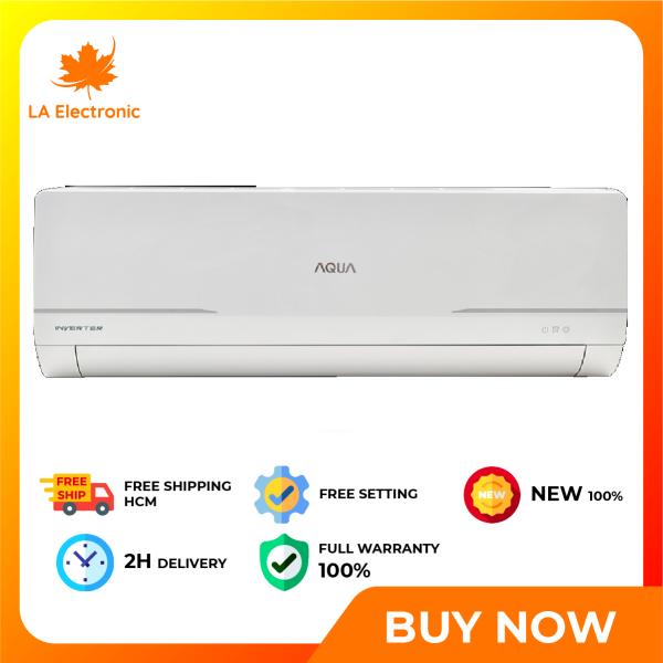 Bảng giá [GIAO HÀNG 2 - 15 NGÀY, TRỄ NHẤT 15.08] Trả Góp 0% - Máy lạnh Aqua Inverter 2 HP AQA-KCRV18WNM - Miễn phí vận chuyển HCM