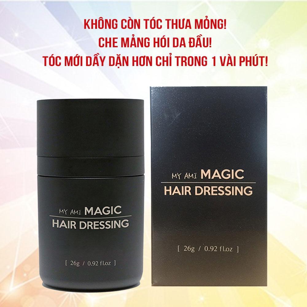 Bột Dặm Làm Dầy Dài Tóc MY AMI MAGIC HAIR DRESSING 26g Hàn Quốc giá rẻ