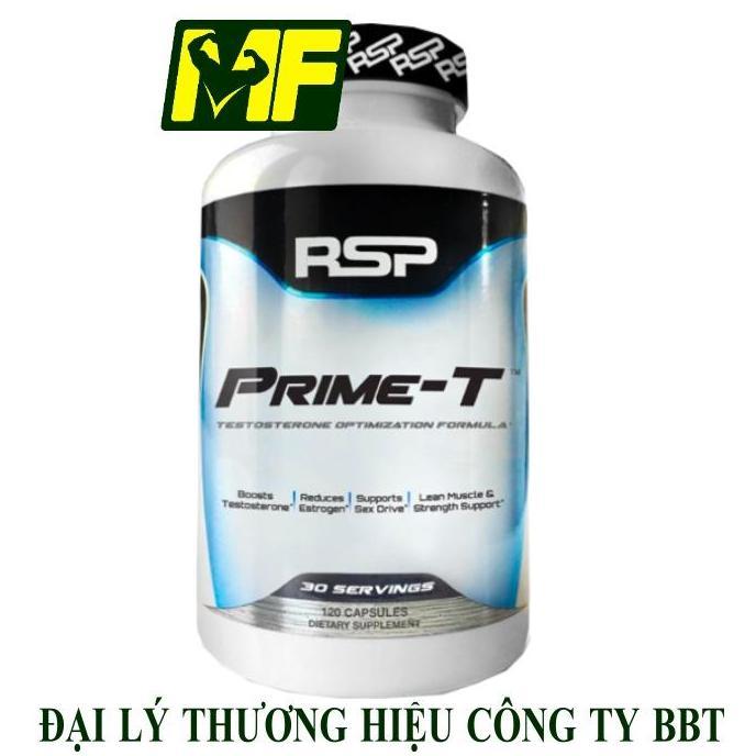 RSP Prime-T – Hổ Trợ Tăng Cường Sinh Lực Phái Mạnh, Tăng Testosterone