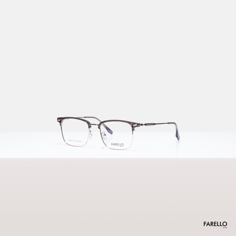 Giá bán Mắt kính cận nam nữ FARELLO thiết kế mắt vuông to sành điệu, đa dạng màu sắc GALIO - 70075