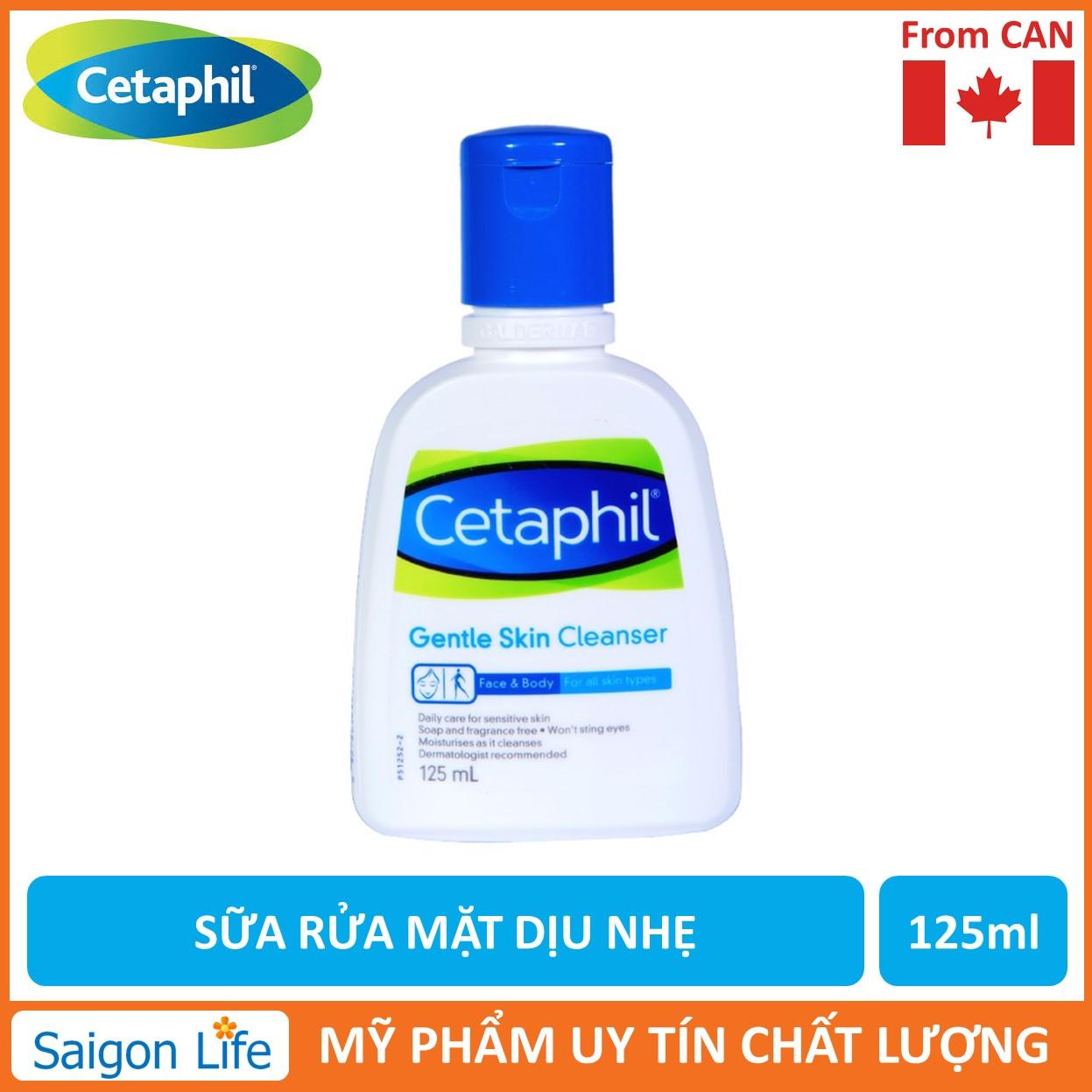 Sữa Rửa Mặt Cetaphil Gentle Skin Cleanser 125ml Giá Giảm