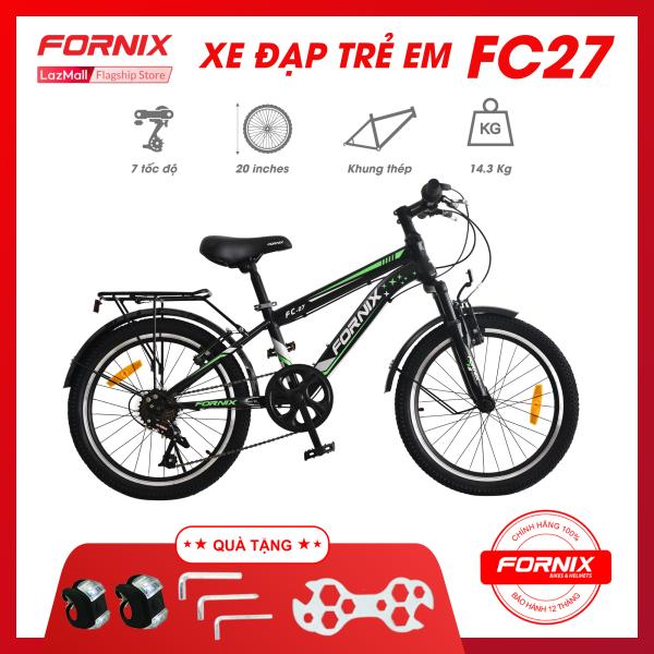 Mua Xe đạp địa hình trẻ em FORNIX FC27- Vòng bánh 20 ( KÈM SÁCH HƯỚNG DẪN) - Bảo hành 12 tháng + Tặng ( Đèn led - Bộ lắp ráp)