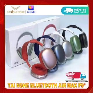 ( Hàng Tốt ) Tai Nghe Headphone Bluetooth Air Max P9 - Tai Nghe Chụp Tai Không Dây Dễ Thương Chống Ồn - Hỗ Trợ Các Thao Tác Điều Chỉnh Chế Độ - Dễ Dàng Sử Dụng Với Tất Cả Các Hệ Điều Hành - Hàng Nhập Khẩu. thumbnail