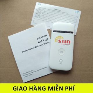 CỤC PHÁT SÓNG WIFI 3G 4G DI ĐỘNG ZTE MF65 SIÊU CHẤT LƯỢNG,TẶNG SIÊU SIM DATA KHỦNG từ MƯỜNG THANH ROYAL thumbnail