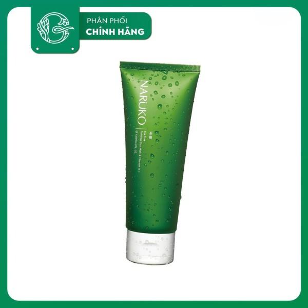Bản Đài- Sữa Rửa Mặt Naruko Tea Tree Purifying Clay Mask-Cleanser In1 120gr