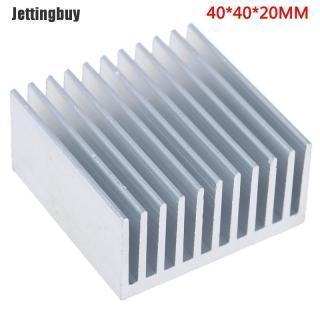 Jettingbuy Tản Nhiệt Bằng Nhôm 40X40X20Mm Bộ Tản Nhiệt Làm Mát IC thumbnail