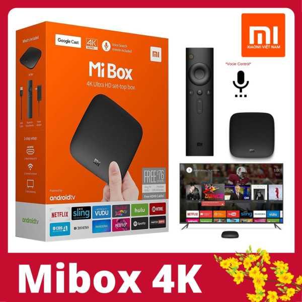 Bảng giá Android Tivi Box Mibox 4K Ultra HD set-top box Global Quốc Tế Tiếng Việt