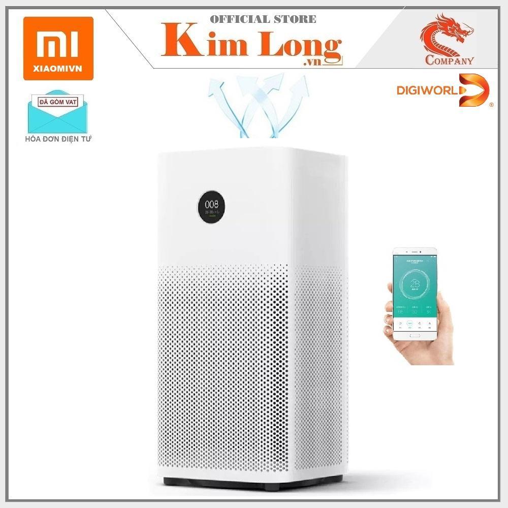 Máy lọc không khí Xiaomi Mi Air Purifier 2S , FJY4020GL - Digiworld phân phối chính thức