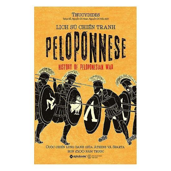Sách - Lịch Sử Chiến Tranh Peloponnese Giá Cực Cool