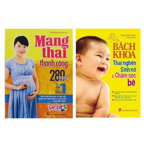 Sách - Combo Bà Bầu Nên Đọc: Bách Khoa Thai Nghén - Sinh Nở Và Chăm Sóc Em Bé + Mang Thai Thành Công